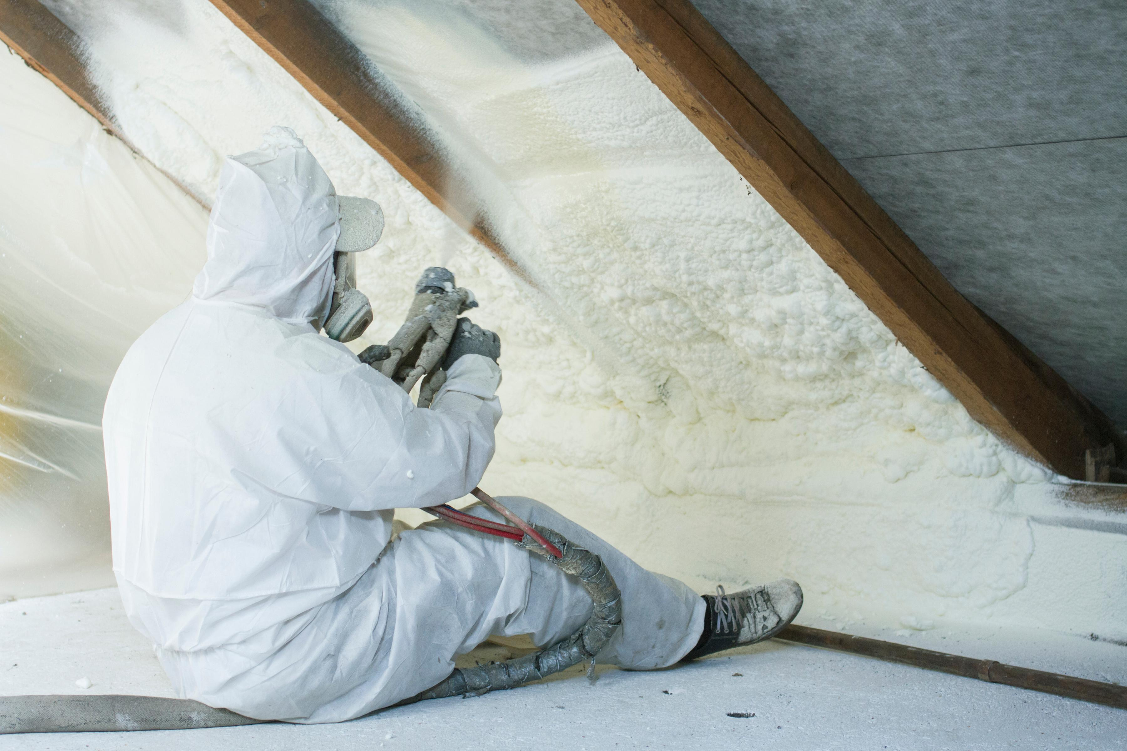 Spray Foam Insulation, Green Team Long Island, New York