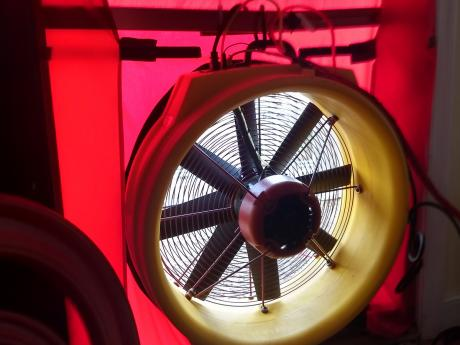 Blower Door Fan
