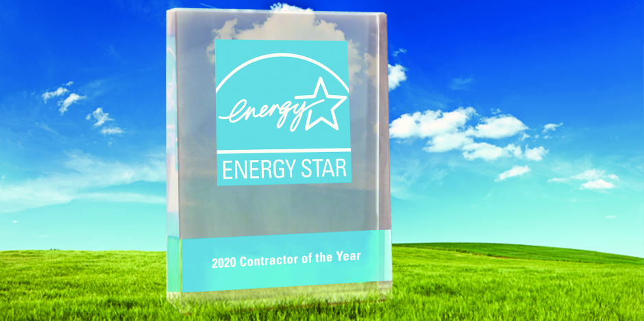 Home Performance Contractor Of The Year With Energy Star Award